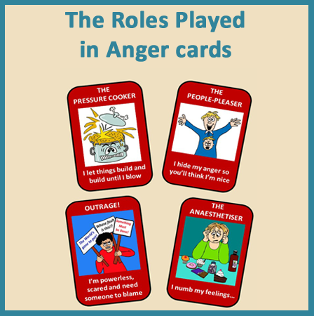 Roles Played in Anger Cards